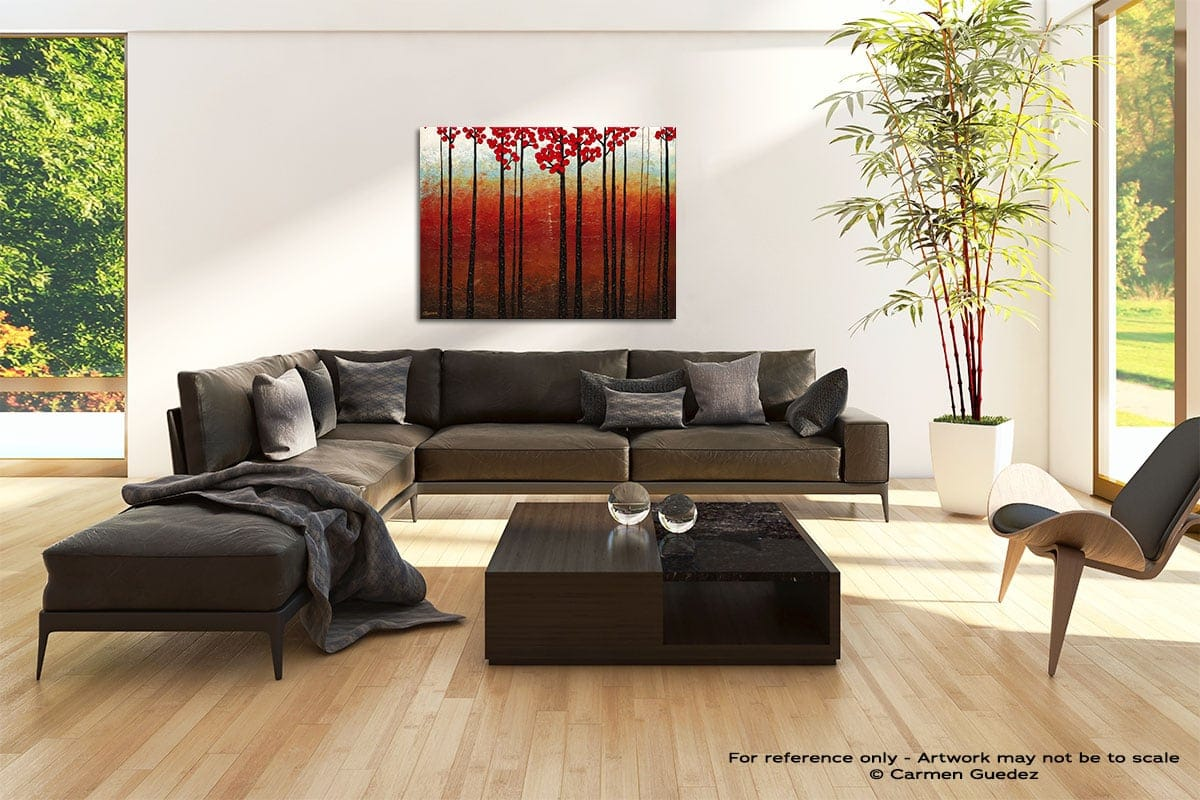 Season Of Hope Abstract Painting Modern Home Id69