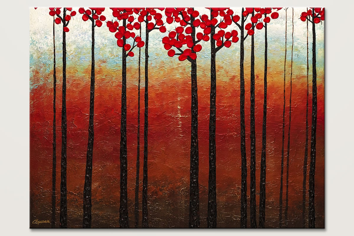Season of Hope - Abstract Art Painting Image by Carmen Guedez