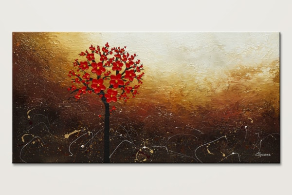 Season Of Love Flower Abstract Painting Id80