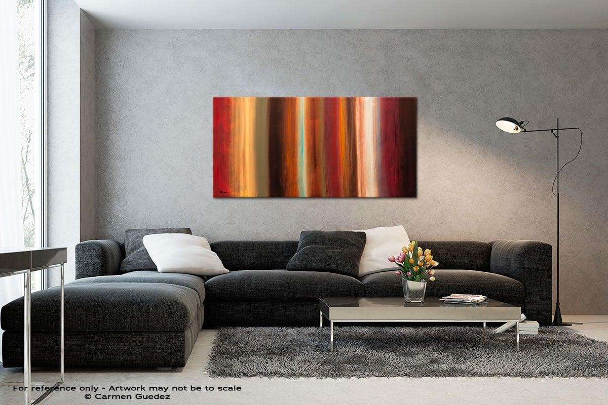 Serenidad Black And White Wall Abstract Art Painting Id70