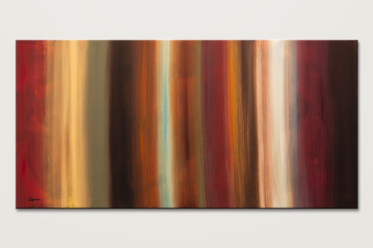 Serenidad Midcentury Modern Abstract Art Id80