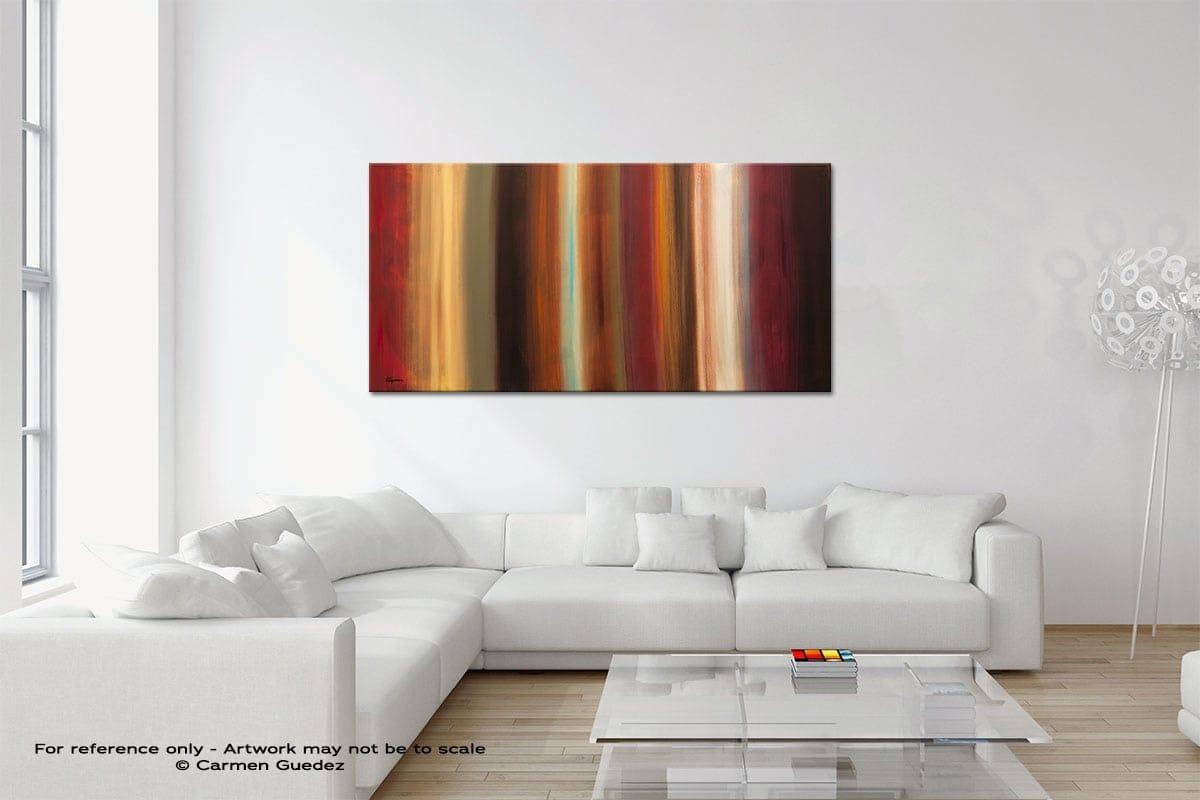 Serenidad Original Neutral Abstract Wall Art Room Id39
