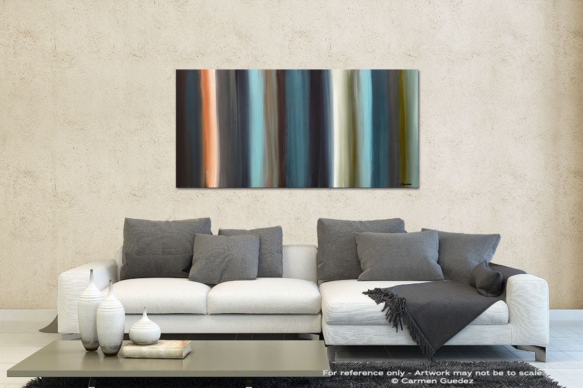 Serenity Contemporary Abstract Art Id35