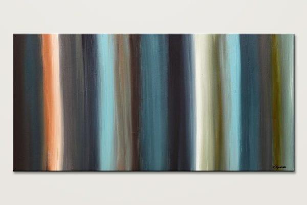 Serenity Mid Century Modern Abstract Art Id80