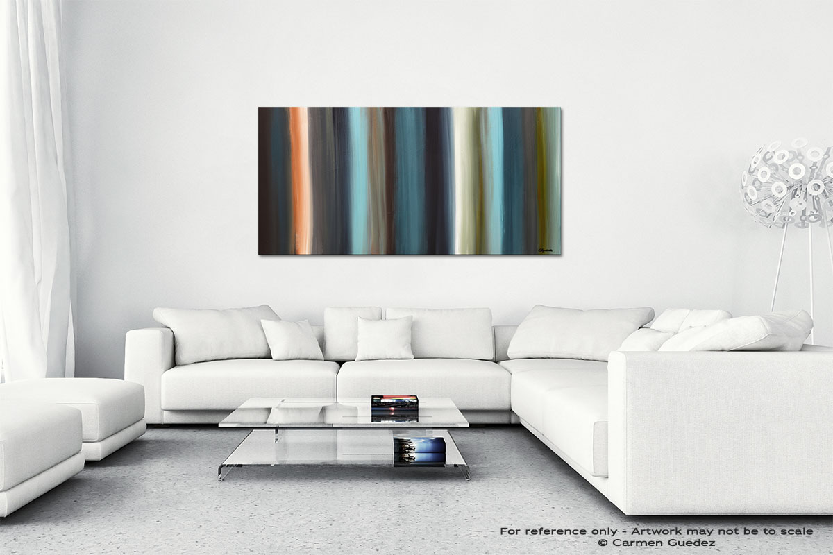 Serenity Wall Art Canvas Painting Id40