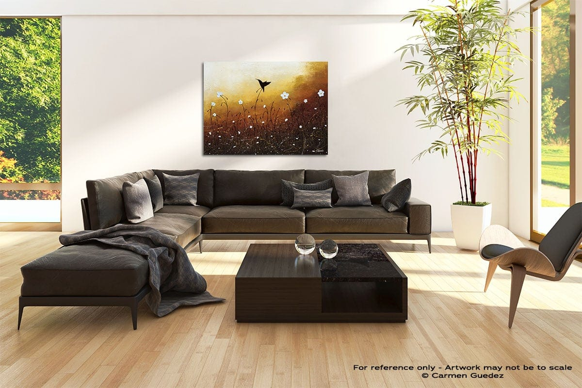 Small Treasure Abstract Painting Modern Home Id69