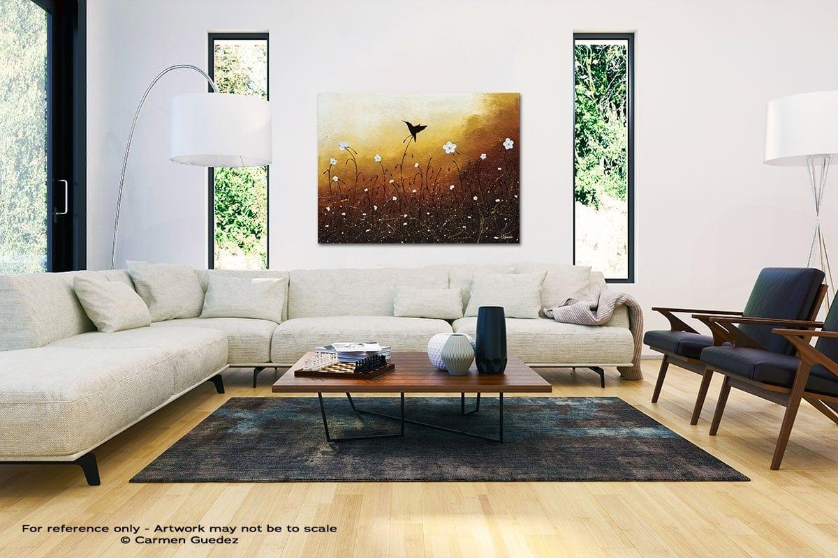Small Treasure Black And White Interior Decor Abstract Art Id46