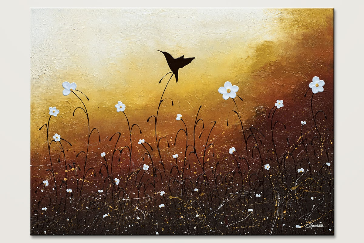 Small Treasure Landscape Abstract Art Painting Id80
