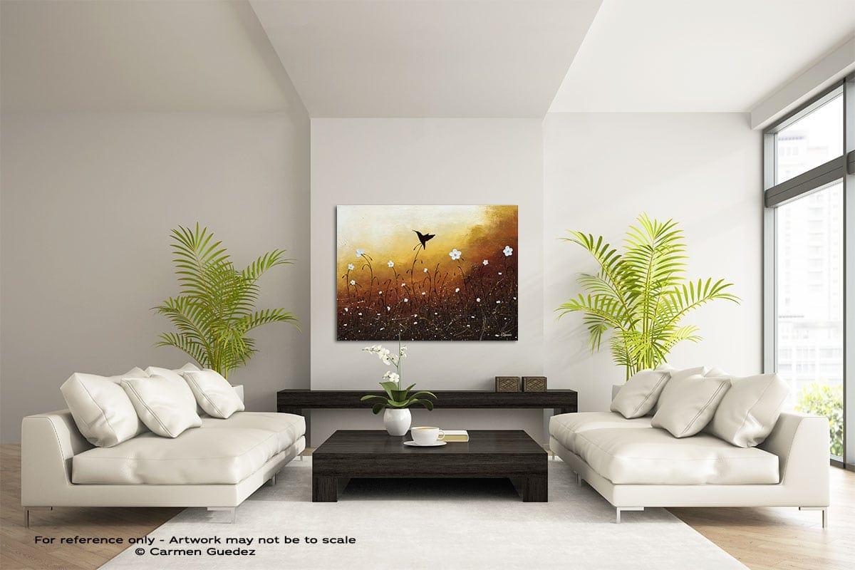 Small Treasure Large Modern Abstract Art Painting Id49