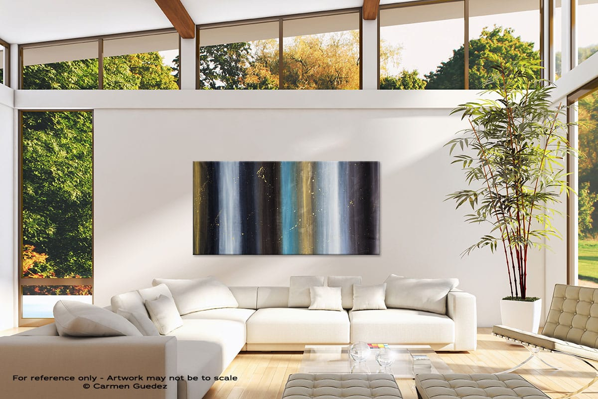 Solstice Oversized Contemporary Abstract Wall Art Id10