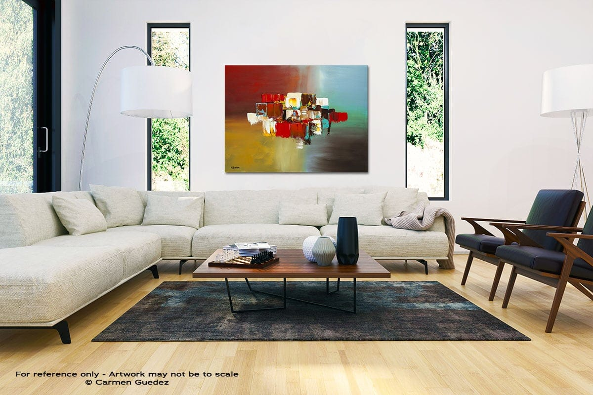Spanning Boundaries Black And White Interior Decor Abstract Art Id46