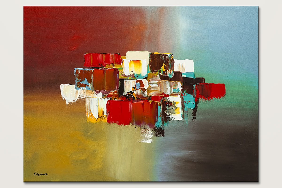 Spanning Boundaries Modern Abstract Art Id80