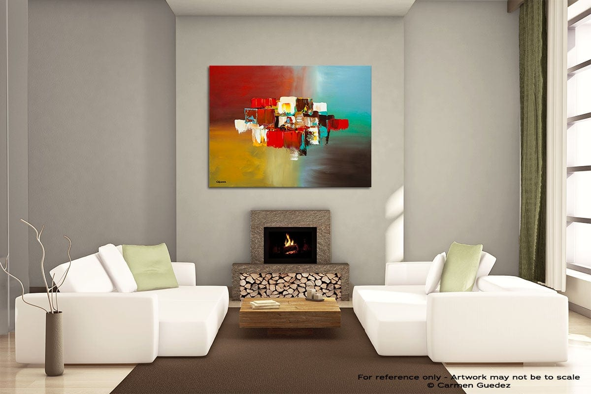 Spanning Boundaries Painting On Canvas Large Living Room Id52