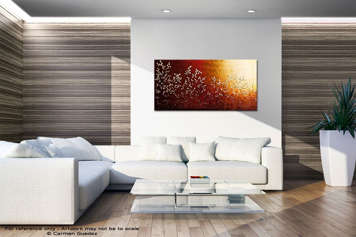 Spring Sunrise Large Abstract Art Id36
