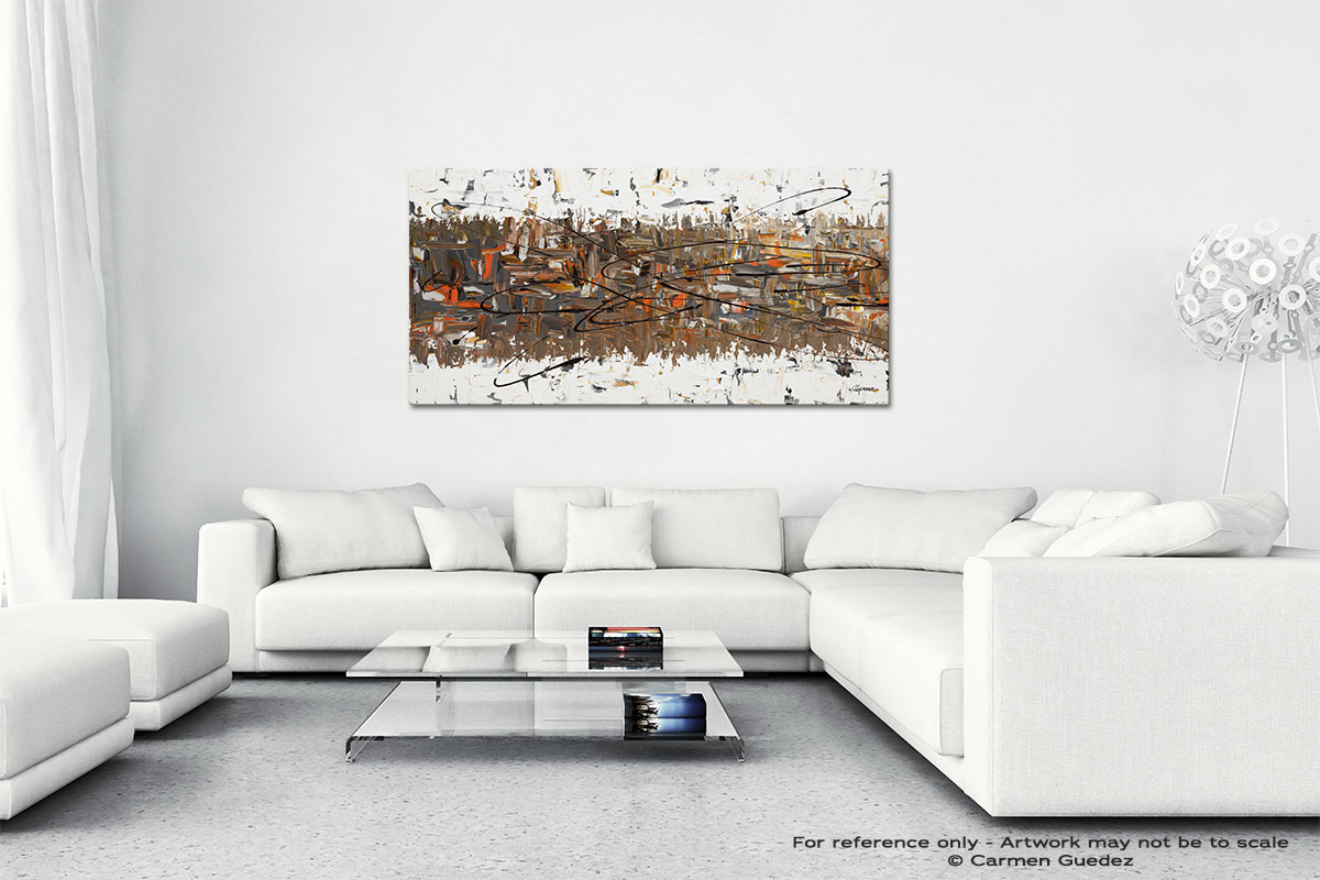 Stars Passing Wall Art Canvas Painting Id40
