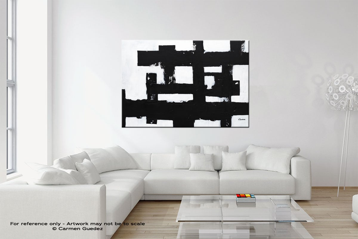 Straightforward Wall Art Canvas Painting Neutral Room Id27