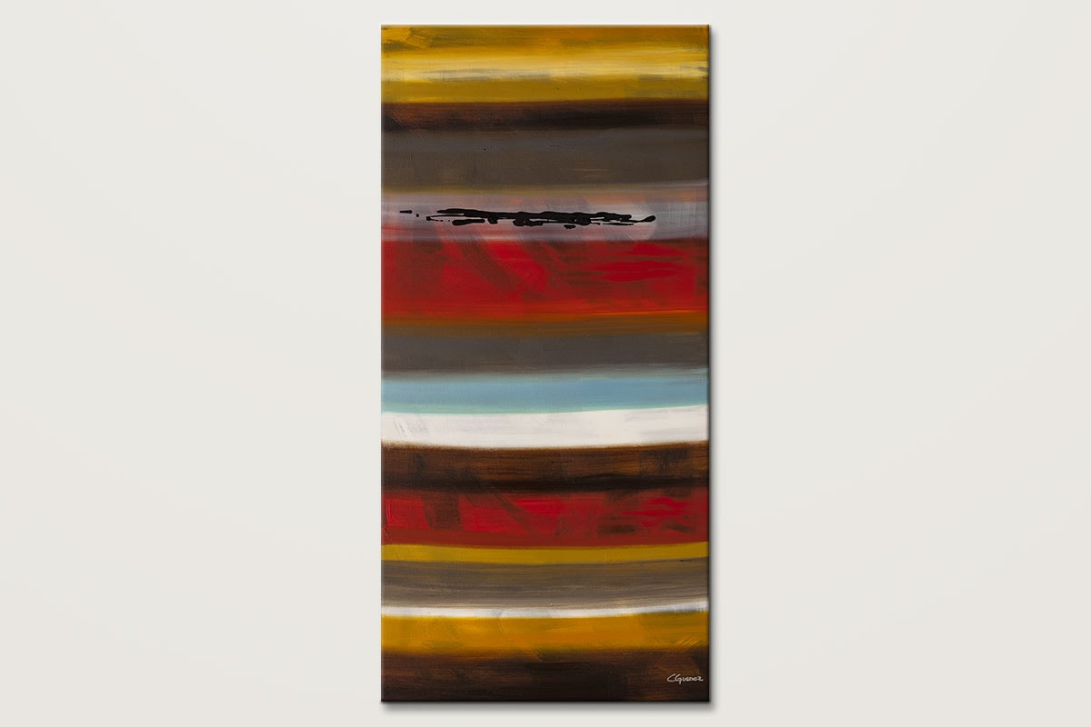 Strata Modern Abstract Art Painting