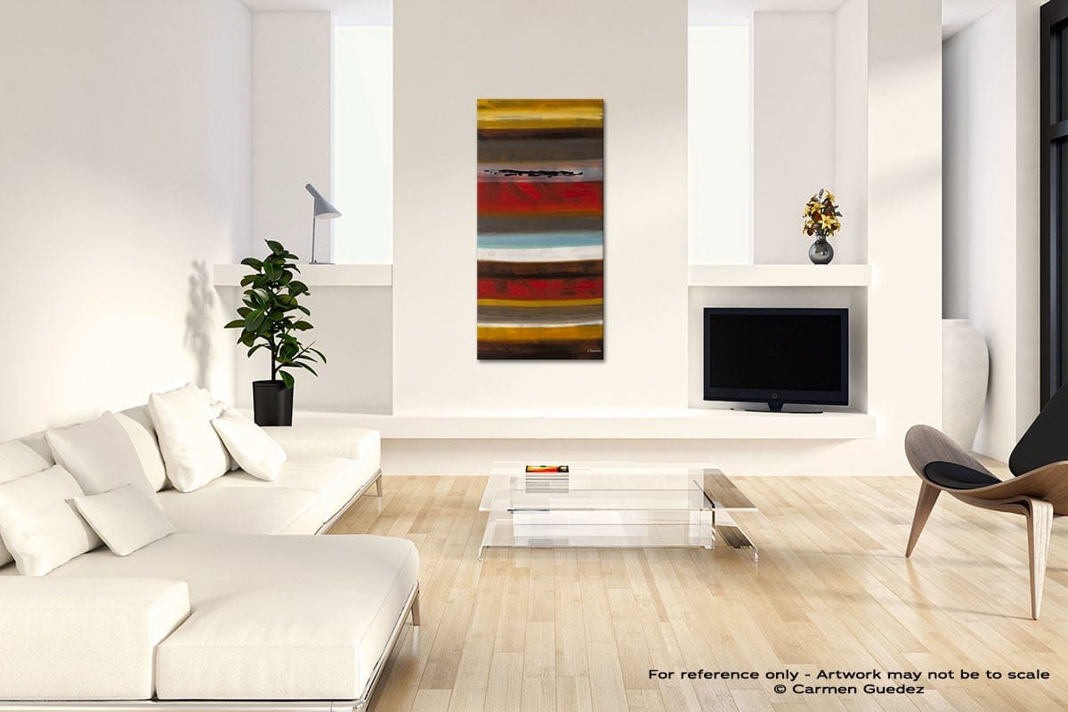 Strata Modern Abstract Painting Home Design Id41