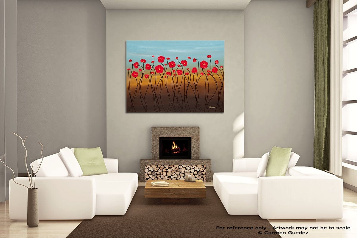Summer Day Painting On Canvas Large Living Room Id52