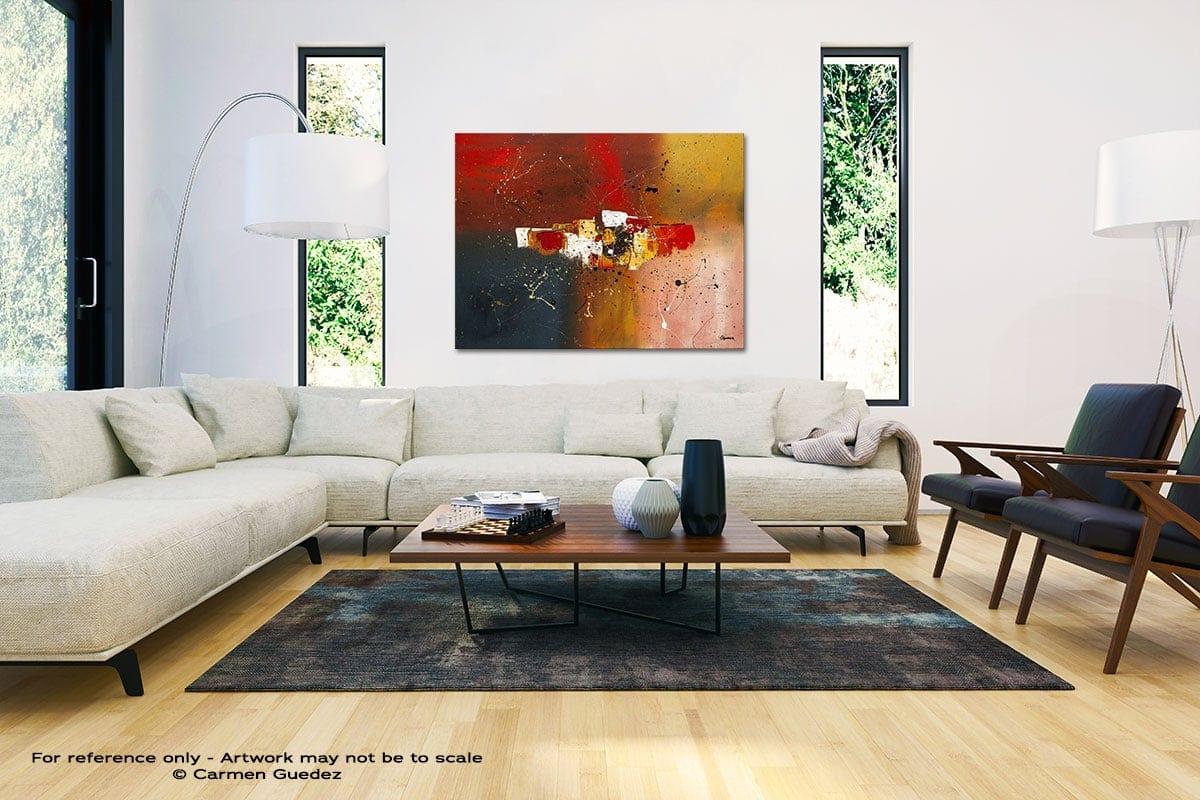 Supernova Black And White Interior Decor Abstract Art Id46