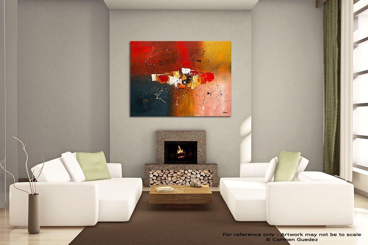 Supernova Painting On Canvas Large Living Room Id52