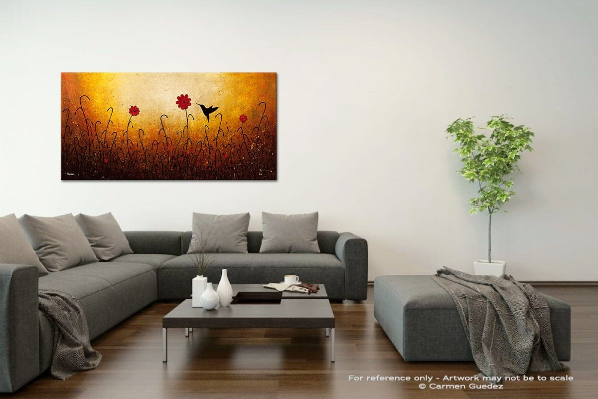 Sweet Inspiration Acrylic Gray Wall Art Painting Id34