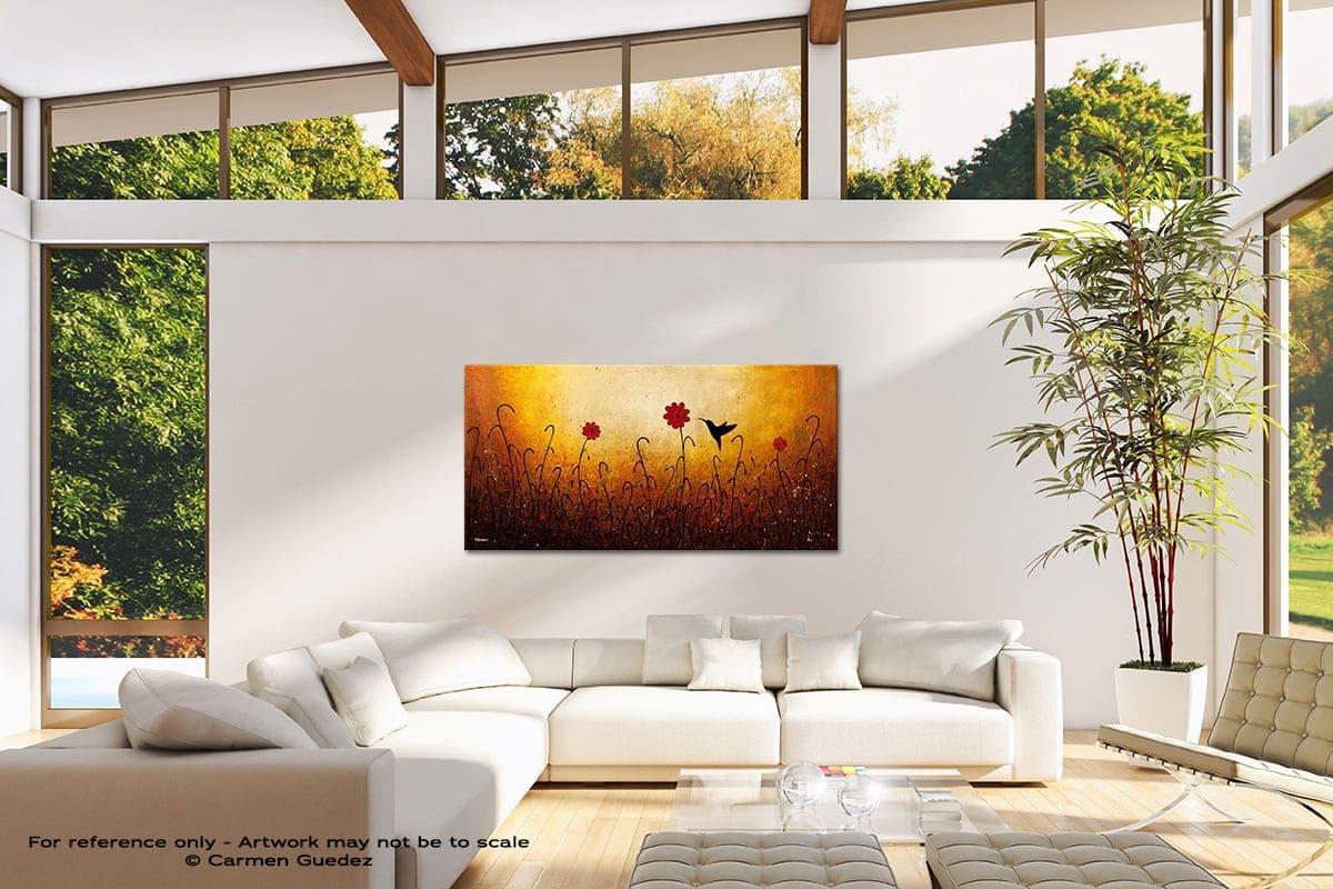 Sweet Inspiration Modern Canvas Abstract Art Id38