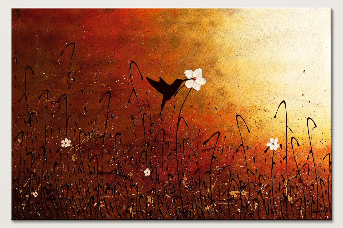 Sweet Nectar Abstract Art Painting Id80