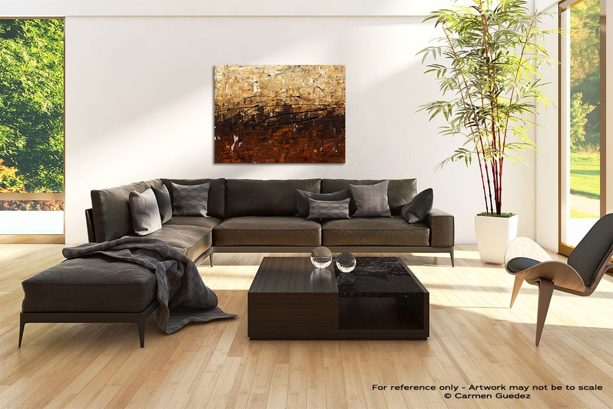 Symphony Abstract Painting Modern Home Id69