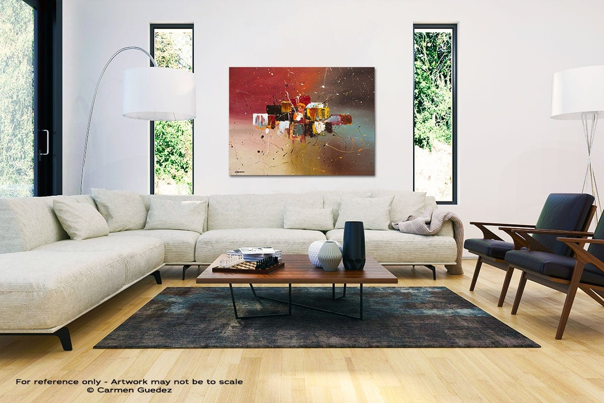 Synergy Black And White Interior Decor Abstract Art Id46