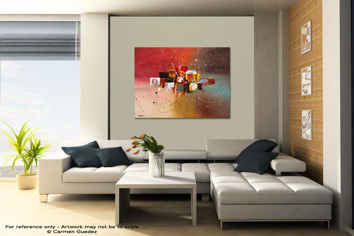 Synergy Contemporary Abstract Art Painting Id48