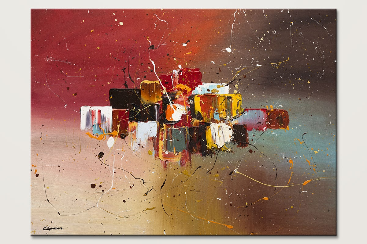 Synergy Large Interior Decor Abstract Art Id80