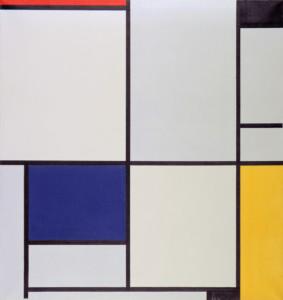 Tableau I By Piet Mondrian