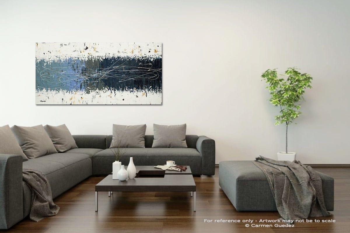 Taking Chances Acrylic Gray Wall Art Painting Id34