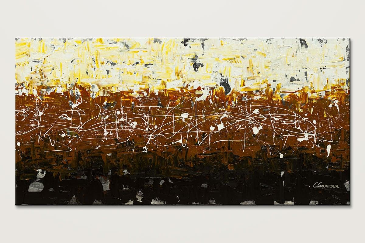 Terra Matter Mid Century Abstract Painting Id80