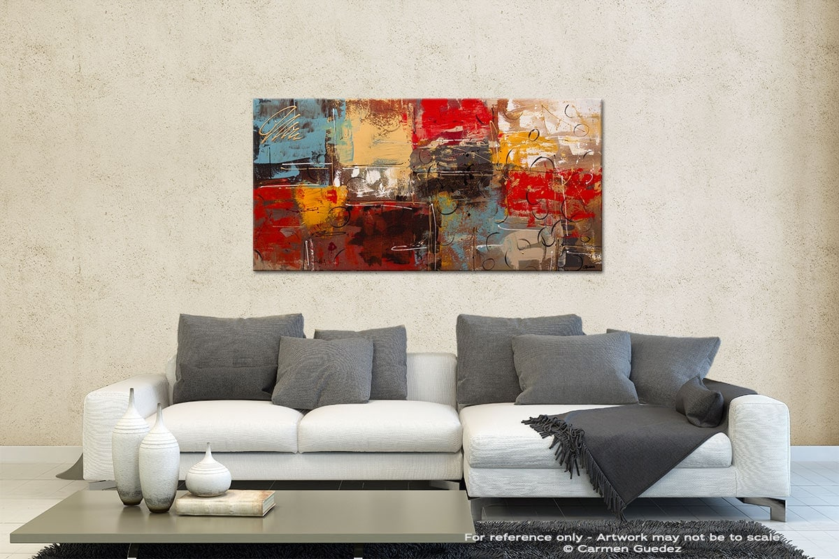 Tgif Contemporary Abstract Art Id35