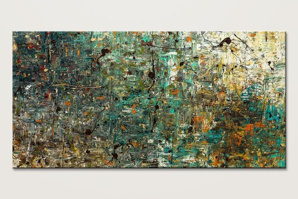 The Abstract Concept Large Abstract Art Painting Id80