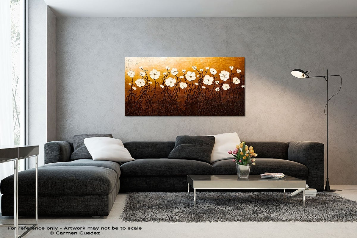 The Beauty Of Nature Black And White Wall Abstract Art Painting Id70