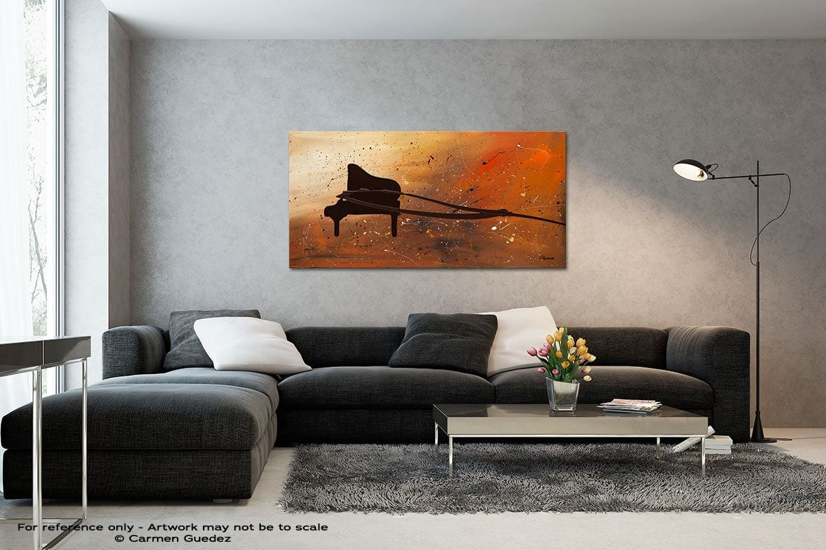 The Grand Black And White Wall Abstract Art Painting Id70