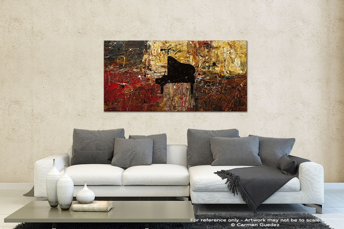 The Grand Finale Contemporary Abstract Art Id35