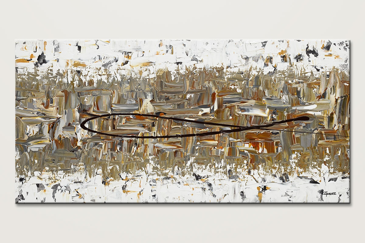 The Longest Ride Original Abstract Art Painting Id80