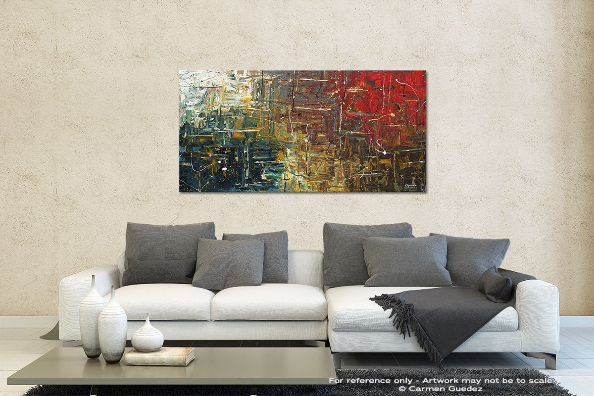 The Middle Way Contemporary Abstract Art Id35