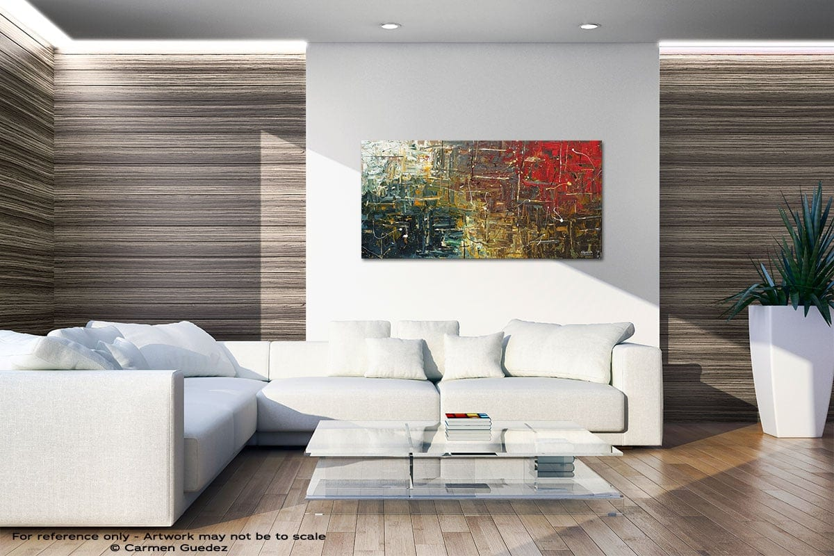The Middle Way Large Abstract Art Id36