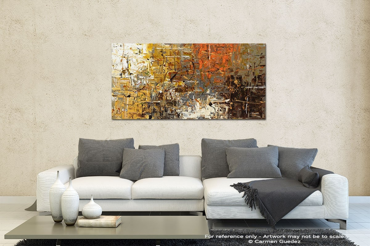 The More The Merrier Contemporary Abstract Art Id35