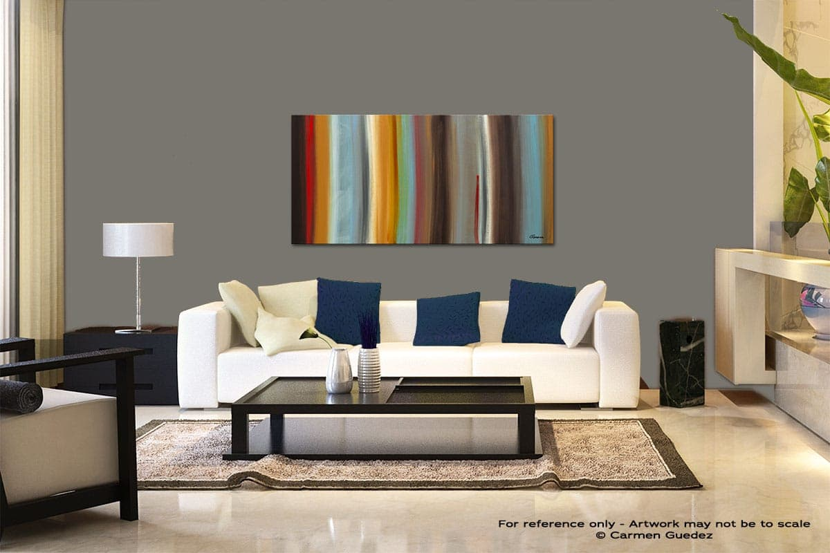 The Nouveau Modern Abstract Art Painting Living Room Id37