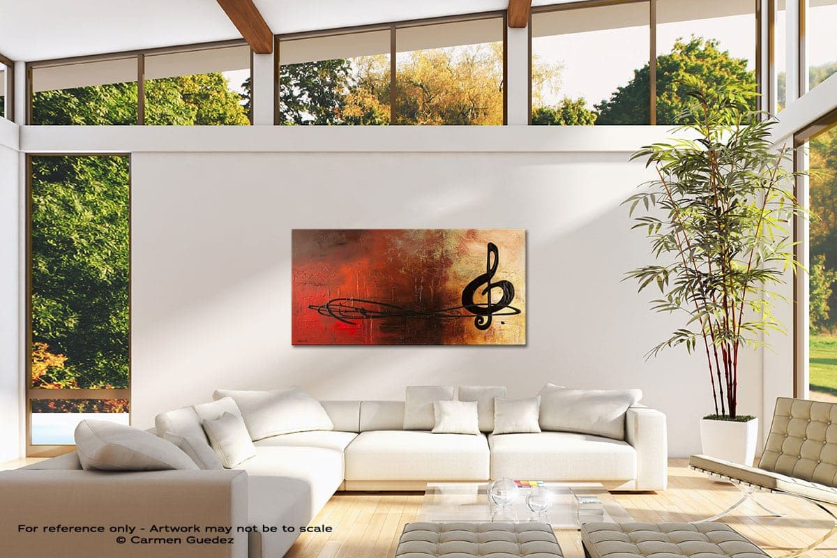 The Pause Modern Canvas Abstract Art Id38