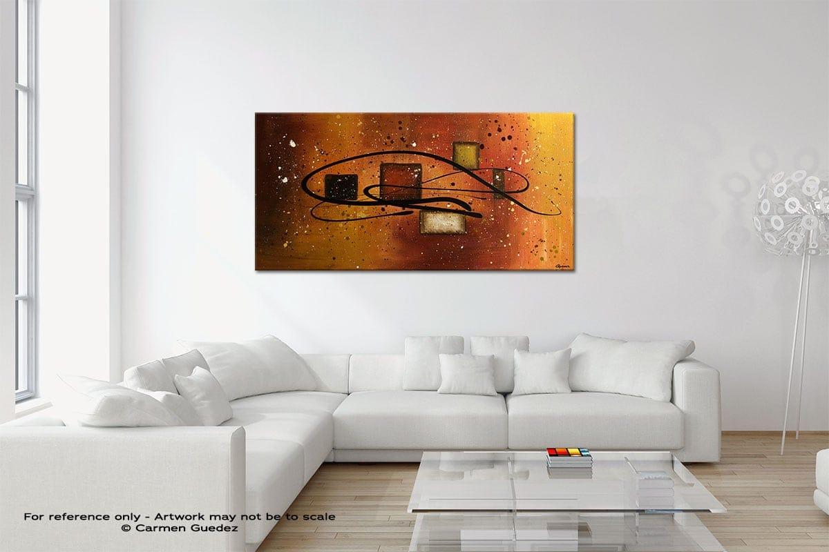 The Power Original Neutral Abstract Wall Art Room Id39
