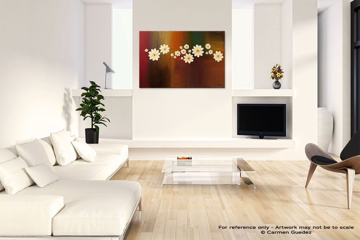 The Time Of Our Lives Abstract Art Painting Interior Living Room Design Id60