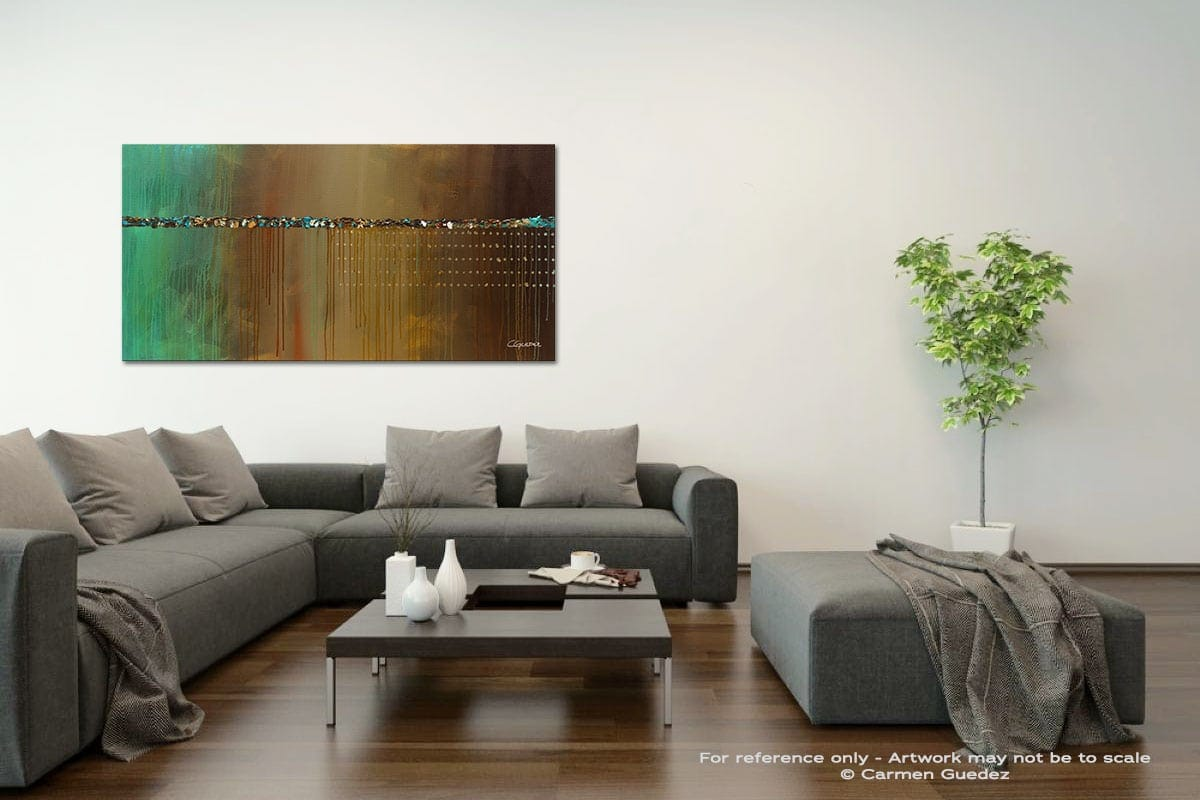 The Voyaje Acrylic Gray Wall Art Painting Id34