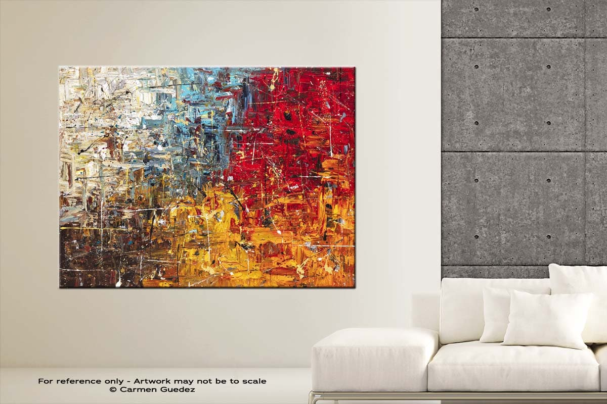 Thisisit Abstract Art Modern Painting Large Id76
